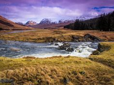 """Glen Lyon is a glen in the Perth and Kinross region of Scotland. It is the longest enclosed glen in Scotland and runs for 34 miles from Loch Lyon in the west to the village of Fortingall in the east. This glen was also known as """"An Crom Ghleann"""""""