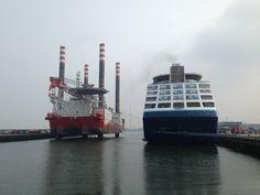 IJmuiden Marina in IJmuiden, Noord-Holland