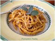 Pumpkin Pasta | Foodie Goes Healthy