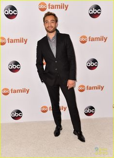Ed Westwick at the ABC's TCA Party!