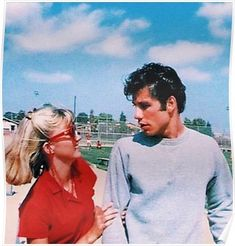 Grease - Sandy and Danny Vintage Photo, Olivia Newton John and John Travolta. Aesthetic Movies, Couple Aesthetic, Aesthetic Pictures, 90s Aesthetic, John Travolta, Cute Relationship Goals, Cute Relationships, Cute Relationship Pictures, Cute Couples Goals