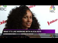 Alicia Keys Reacts to Chris and Vanessa's Show on the Voice and Riff Together on Instagram Live - YouTube