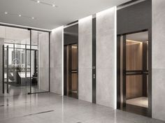 Elevator Lobby Design, Hotel Lobby Design, Corridor Design, Hall Design, Modern Office Design, Office Interior Design, Hotel Interiors, Office Interiors, Lift Design