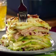 Chayote-Speck-Gratin My Videos Healthy Eating Recipes, Healthy Chicken Recipes, Vegetable Recipes, Mexican Food Recipes, Vegetarian Recipes, Dinner Recipes, Cooking Recipes, Vegetarian Lunch, Cabbage Recipes