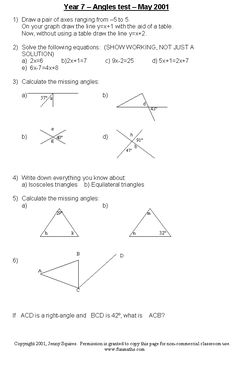 math worksheet : free high school math worksheet from funmaths high school  : Math Worksheets For High School