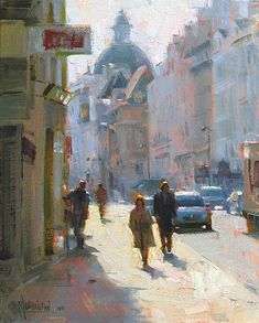 Rue Saint-Antoine by Jennifer McChristian
