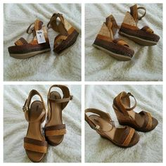 ??Brand New!!?? Brown Wedge sandals, Tags Attached...PRICE FIRM!!!?? Mossimo Supply Co. Shoes Wedges