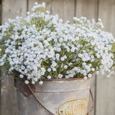 These artificial baby's breath sprays, featuring a soft blue hue, are sure to add beauty and texture to any space while adding a touch of farmhouse charm. Baby's Breath Plant, Deer Fern, Artificial Baby's Breath, Boxwood Garland, Paper Pot, Faux Plants, Zinnias, Sprays, Hue