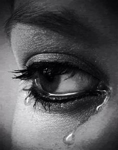 Never be the cause of someone else's tears.
