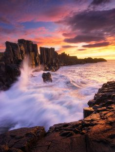 Bombo Quarry Sunrise AUSTRALIA kiama
