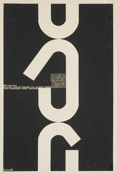 "1969 Cuban poster for GANGA ZUMBA (Carlos Diegues, Brazil, 1963)    Designer: Antonio Pérez González aka ""Ñiko"" (b. 1941)"
