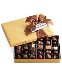 Although I am not big on sweets, I have always wanted a GIANT box (like 10 pounds) of truffles. Godiva had the best Jasmine flavored truffle years ago. I still remember it!