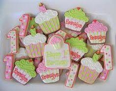 cupcake theme birthday party - Google Search