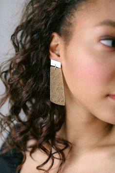 Nickel & Suede has all the unique leather jewelry you're looking for. Explore our collection to find lightweight earrings, leather jewelry, and more. Leather Cuffs, Leather Earrings, Leather Jewelry, Nickel And Suede, Lilac Grey, Gold Statement Earrings, Sweaters And Jeans, Delicate Rings, Mixed Metals