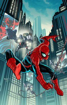 Timestorm 2009-2099 Spider-Man -   Paul Renaud
