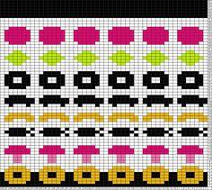 Tricksy Knitter Charts: Irtokarkki kaava by Veera Romppainen