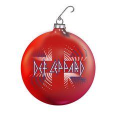 Def Leppard Christmas ornament - www.defleppard.com
