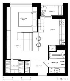 65 Ideas For Apartment Bedroom Design Layout Floor Plans Apartment Layout, Apartment Interior, Apartment Design, Bedroom Apartment, Studio Apartment Floor Plans, Apartment Plans, Apartment Ideas, Bedroom Layouts, House Layouts