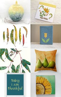 Green and Gold by Dianna on Etsy--Pinned with TreasuryPin.com
