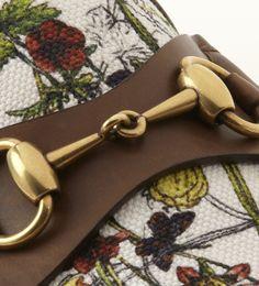 Gucci 1953 Horsebit Loafer in Mini Flora Infinity Canvas