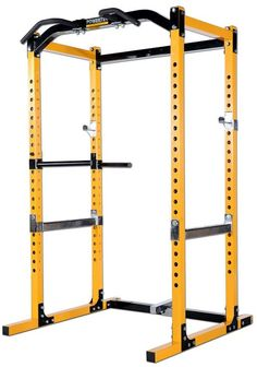 Diy Home Gym, Home Gym Design, Power Rack, Bench Press, Weight Lifting, Gym Motivation, Outdoors, Amazon, Yellow