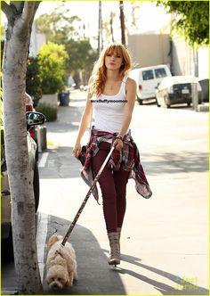 Bella Thorne walking Kingston September 26,2013