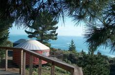 Staying in a Yurt in Big Sur