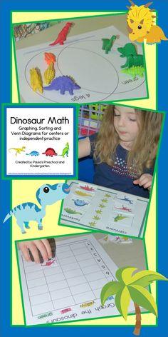 10 math centers including sorting mats, Venn Diagram sorts, and graphs.  TpT $
