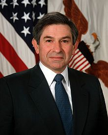 Paul Dundes Wolfowitz (born December 22, 1943) is a former President of the World Bank, United States Ambassador to Indonesia, U.S. Deputy Secretary of Defense