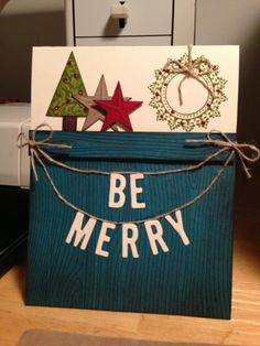 Christmas Home Decor turned Card!
