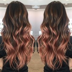 24 Rose Gold Hair Color Variations To Take To Your Colorist!