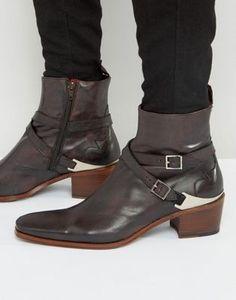 Jeffery West Manero Leather Jodphur Boots