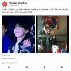 """22.9k Likes, 114 Comments - Ivy Cavasier (@_crazyforbts_) on Instagram: """"Lock up your Ladies cause Jay Dope is back and better than ever ❤❤❤#Jin #jungkook #jimin #jhope…"""""""