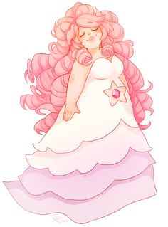 I LOVE her big pink curly fluffy hair!!!!