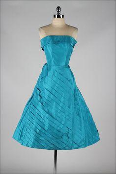 Dress Fred Perlberg, 1950s Mill Street Vintage