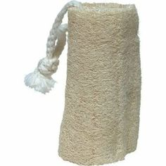 """Kingsley 5"""" Natural Loofah with Cotton Rope by Kingsley. $2.59 Natural Loofah, Cotton Rope, Bath And Body, Bathing, Diy And Crafts, Burlap, Reusable Tote Bags, Accessories, Beauty"""