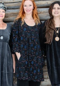 """Klöver"" lyocell dress – New arrivals! – GUDRUN SJÖDÉN – Webshop, mail order and boutiques 
