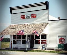 Country stores. There is a smell you will never find in a big store. Or a friendliness.