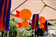 goldfish lanterns