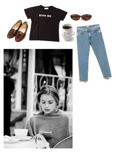 """""""Untitled #101"""" by bxckymay ❤ liked on Polyvore featuring Paul & Joe, Chanel, Ted Baker and Acne Studios"""