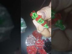 Cercei coronita de sarbatori 3D/ How to bead festive holiday flower earrings - YouTube Holiday Festival, Flower Earrings, Birthday Candles, Festive, 3d, Beads, Flowers, Youtube, Beading