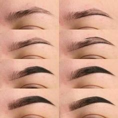 Make Up; Look; Make Up Looks; Make Up Augen; Make Up Prom;Make Up Face; Makeup Steps Source by sunnyzifer Eyebrow Makeup Tips, Eye Makeup Steps, Contour Makeup, Skin Makeup, Eyeshadow Makeup, Makeup Eyebrows, Makeup Tips Dark Skin, Doll Eye Makeup, Nose Contouring