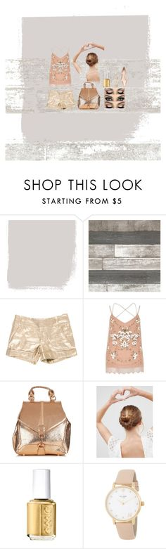 """""""Untitled #2"""" by rory-grace ❤ liked on Polyvore featuring beauty, Alice + Olivia, River Island, ASOS, Essie, Kate Spade and Nicholas Kirkwood"""
