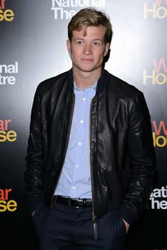 Handsome Ed Speleers Ed Speleers, Downton Abbey, Bae, Handsome, Leather Jacket, Jackets, Fictional Characters, Fashion, Studded Leather Jacket