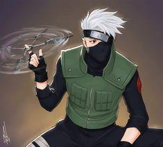 Kakashi by merwild. Naruto Shippuden