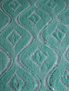 Ravelry: Seascape Stole by Kieran Foley. Beautiful stitch pattern.