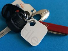 RIP the couldn't-find-my-car-keys excuse... Got the @TheTileApp for Christmas!