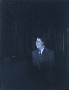 Image: Francis Bacon, 'Man in Blue II' (1954). Oil on Canvas, © The Estate of Francis Bacon / DACS London 2013. All rights reserved.