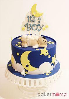 It's A Boy Baby Shower Cake