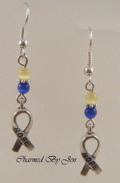 down syndrome jewelry charms Charm Jewelry, Jewlery, Down Syndrome Kids, Down Syndrome Awareness, Homemade Jewelry, Awareness Ribbons, Special Education, Jewelry Ideas, Yellow